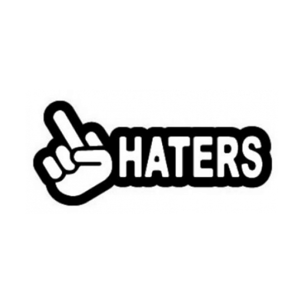 Fuck Haters Decal