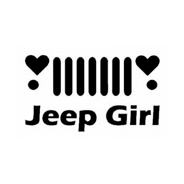 Jeep Girl Decal
