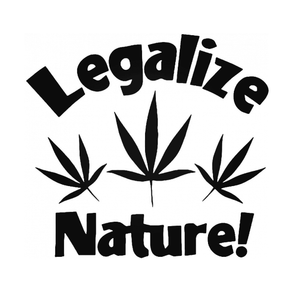 Legalize Nature Decal
