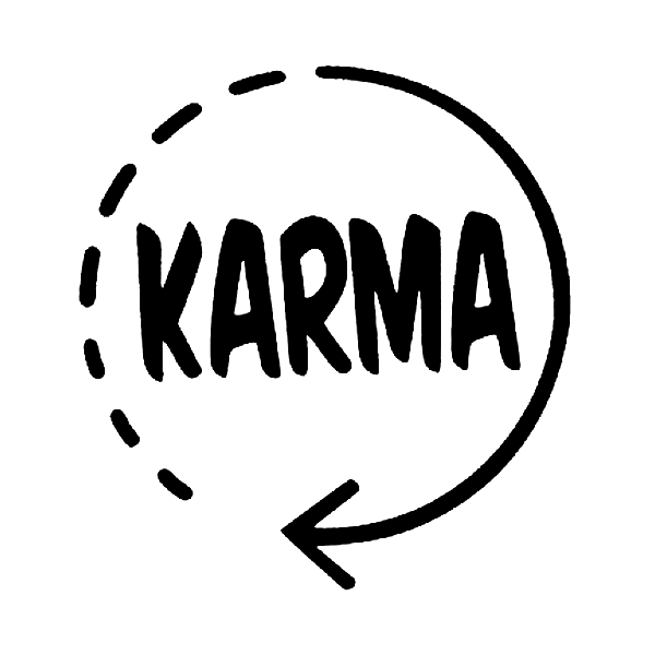 Karma Decal