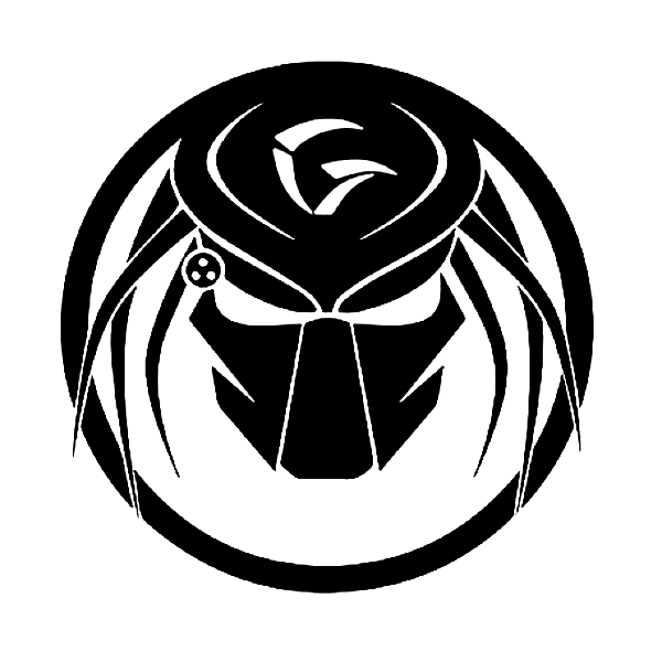 Dodge Ram Predator Mask With Letter G Decal